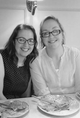 Me and my sister, Gail.