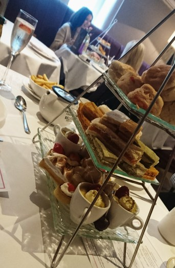 The stunning selection of treats served as part of afternoon tea at Ten Square.