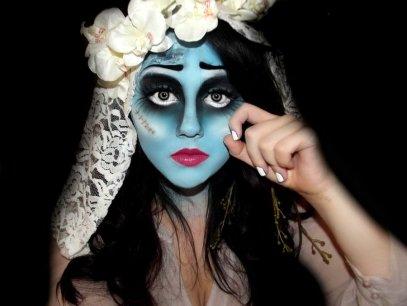 bron: http://kikimj.deviantart.com/art/Corpse-Bride-Halloween-Make-up-262402416