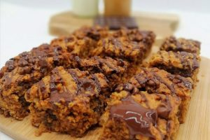 LCBC Peanut Butter Oatmeal Squares