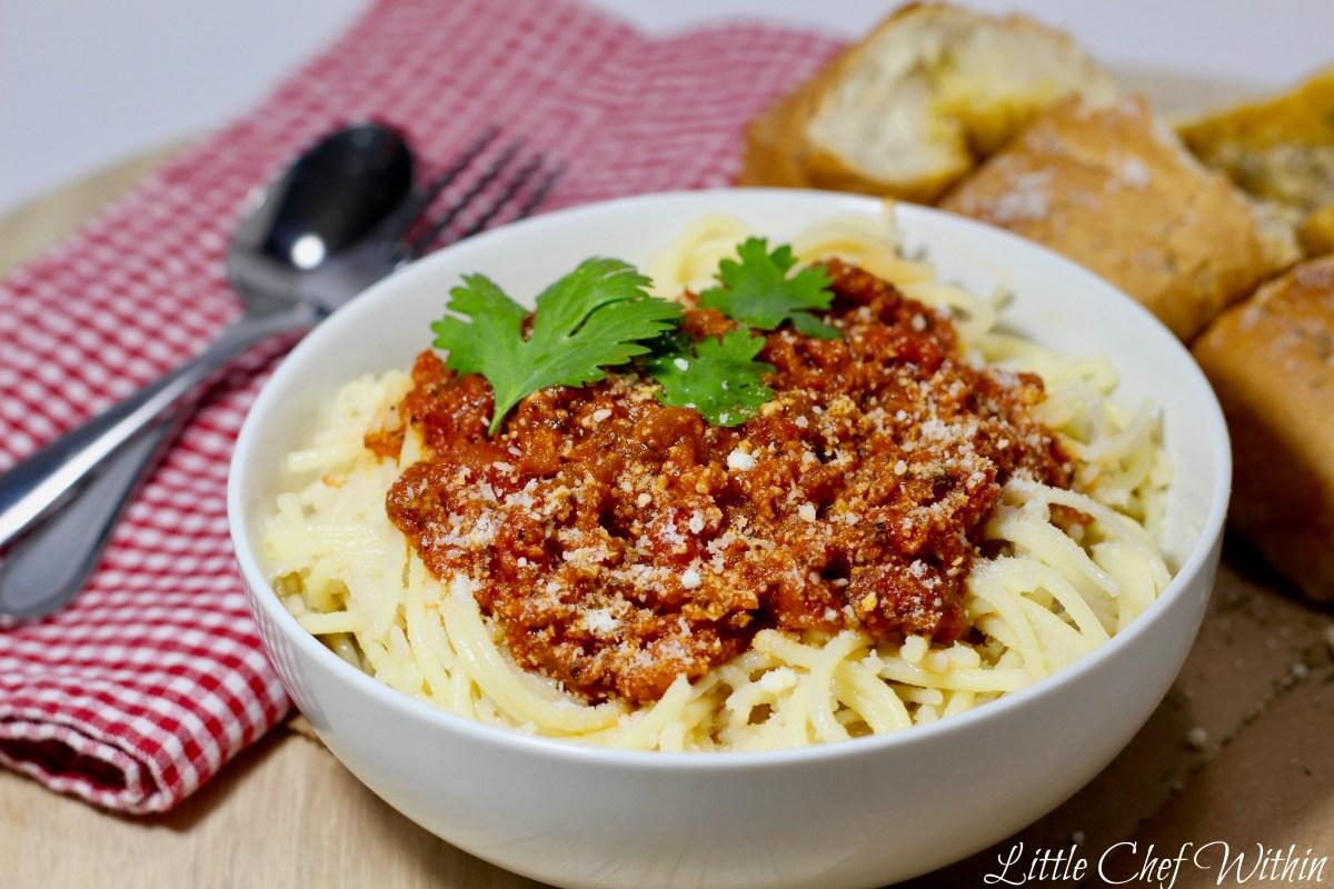 My Favorite Spaghetti Sauce