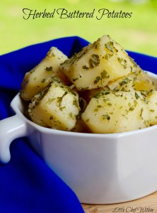 Herbed Buttered Potatoes