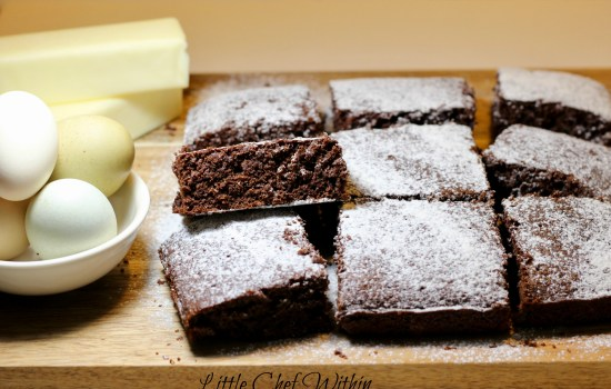 5 Minute Fudge Brownies