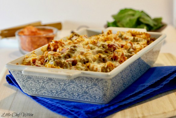 Pizza Casserole-LittleChefWithin.com