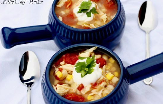 White Chicken Chili (Slow-Cooker OR Instant Pot)