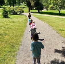 Kids Walking