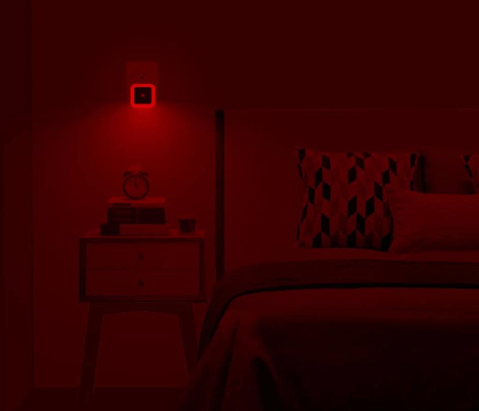 red light for improved sleep