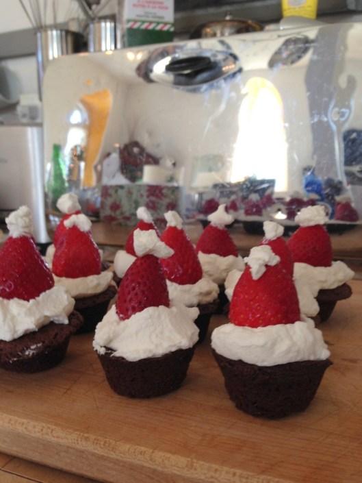 Santa's Two-Bite Brownies