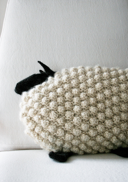Bobble Sheep by Purl Soho