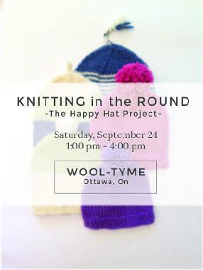 Happy Hats Wool-Tyme Ottawa