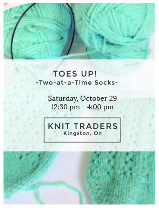 Toes Up! KnitTraders Kingston