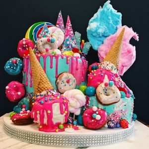 Sugar Explosion Cake