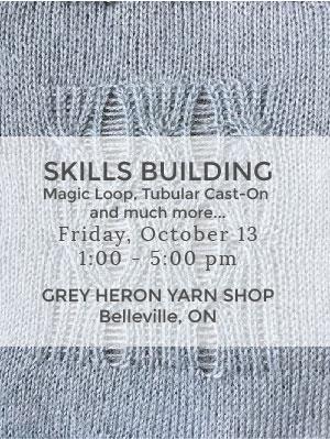 Skills Building at Grey Heron Yarn