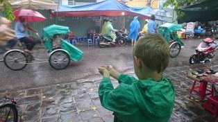 A Hoi An downpour