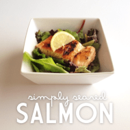 SIMPLY SEARED SALMON