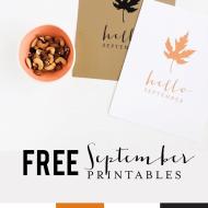 FREE September Printable