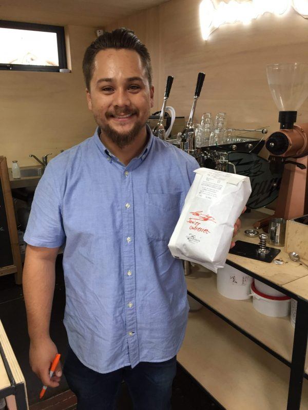 coffee beans farmer