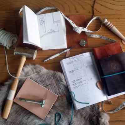 How to be a better hobbyist with the bullet journal leather craft supplies   Littlecoffeefox.com