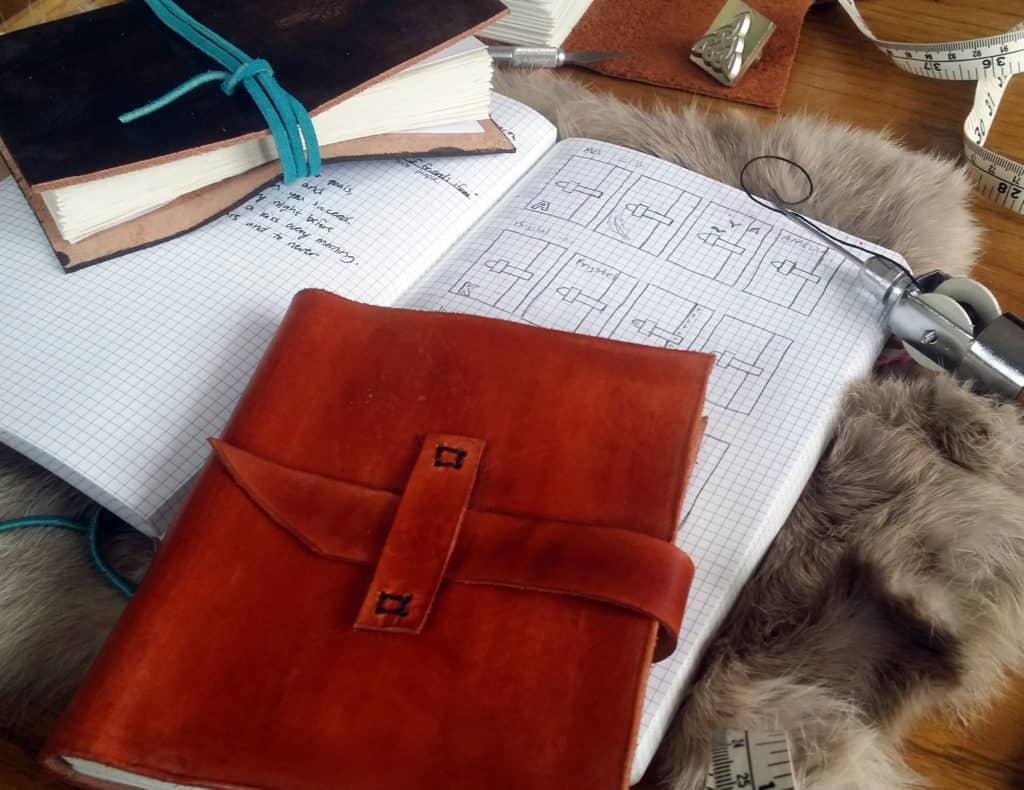 How to be a better hobbyist with the bullet journal bookbinding research | Littlecoffeefox.com