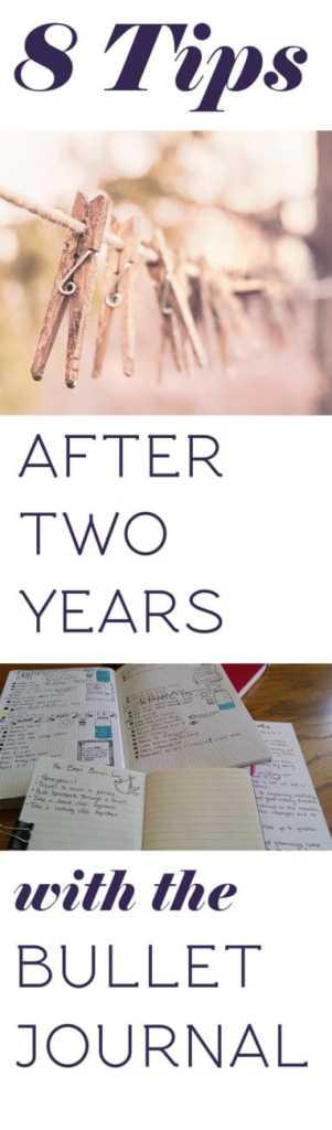 Long title image for 8 Bullet Journal tips | Littlecoffeefox.com