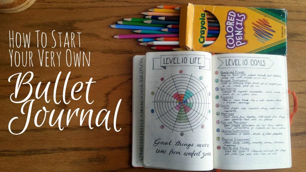How to Start a Bullet Journal | Littlecoffeefox.com