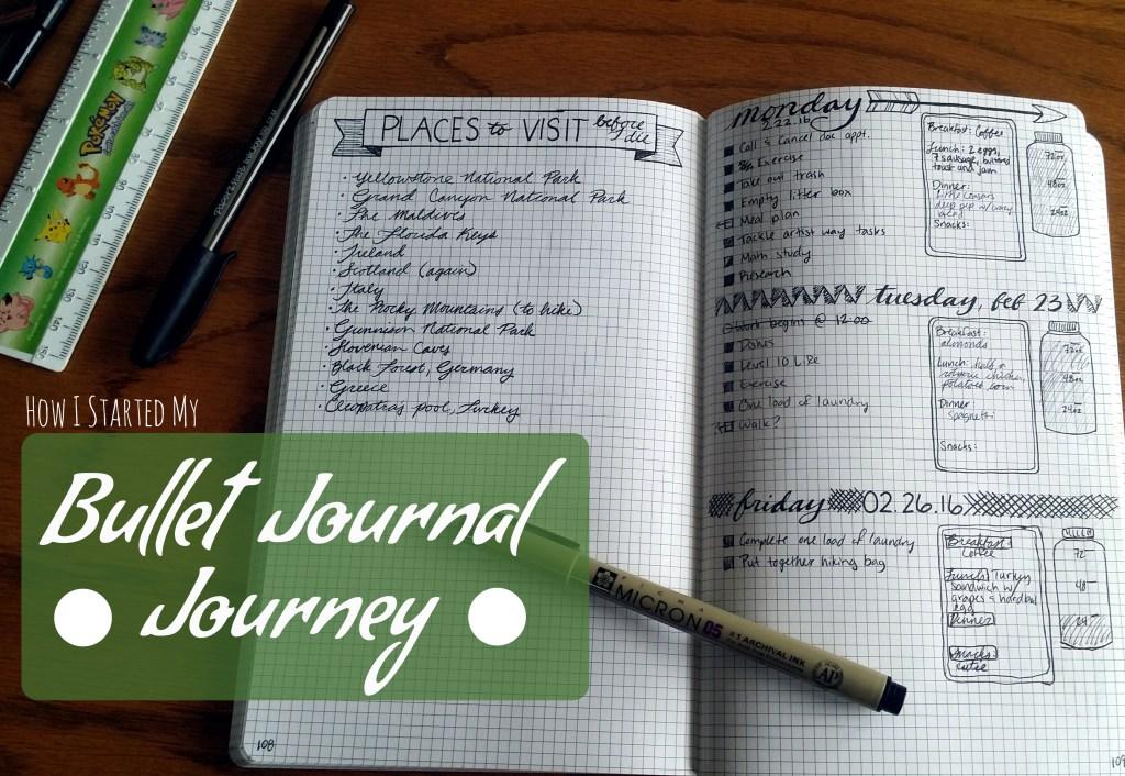 my bullet journal journey | Littlecoffeefox.com
