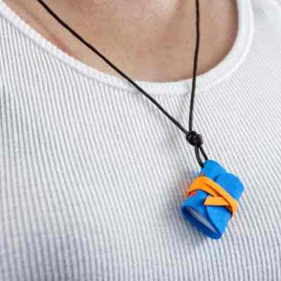 Show Off Your Stationery Spirit with a DIY Journal Necklace