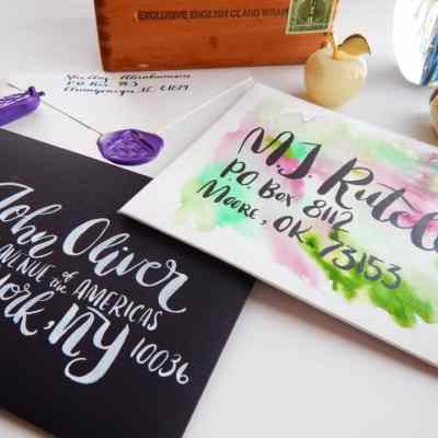 InCoWriMo 2017 – Send Your Love Through the Mail