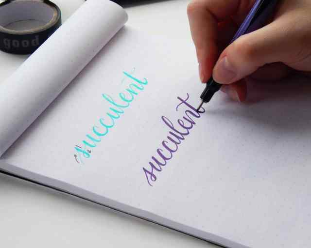Faux Calligraphy - Learn How to Create Gorgeous Lettering the Easy Way