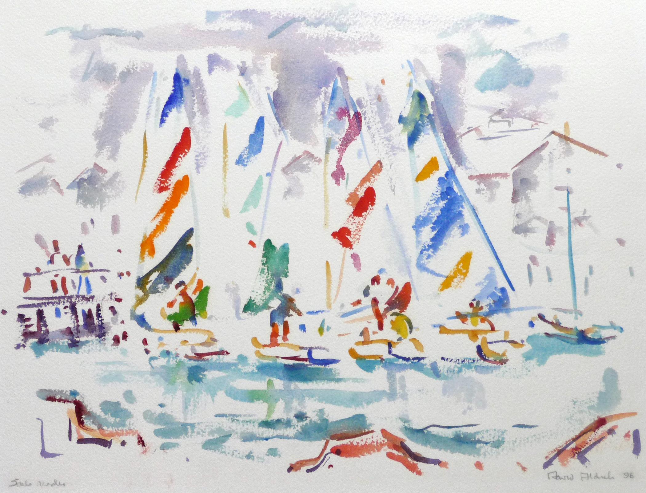 Aldrich_Sails Ready_watercolor Pam Church (1)