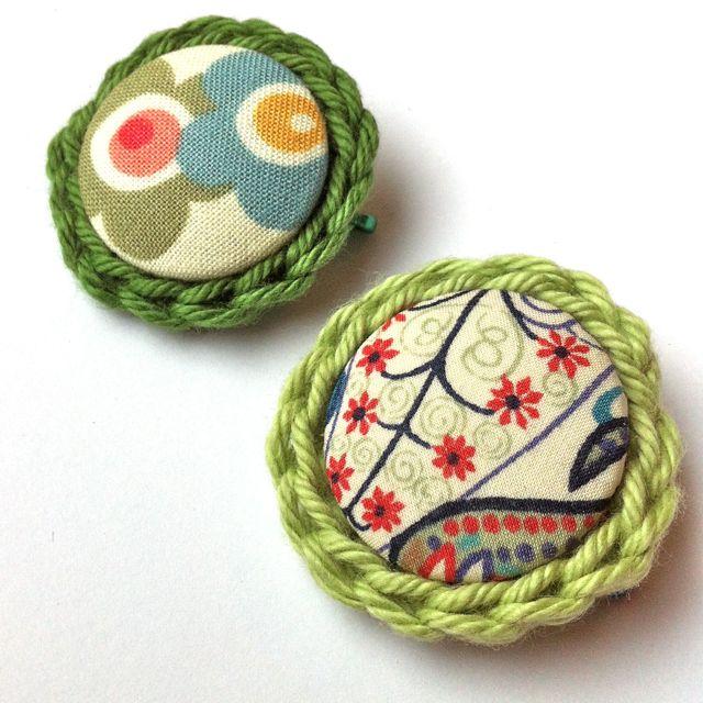 Eco-friendly Handmade Brooches