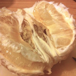 How to eat a pomelo
