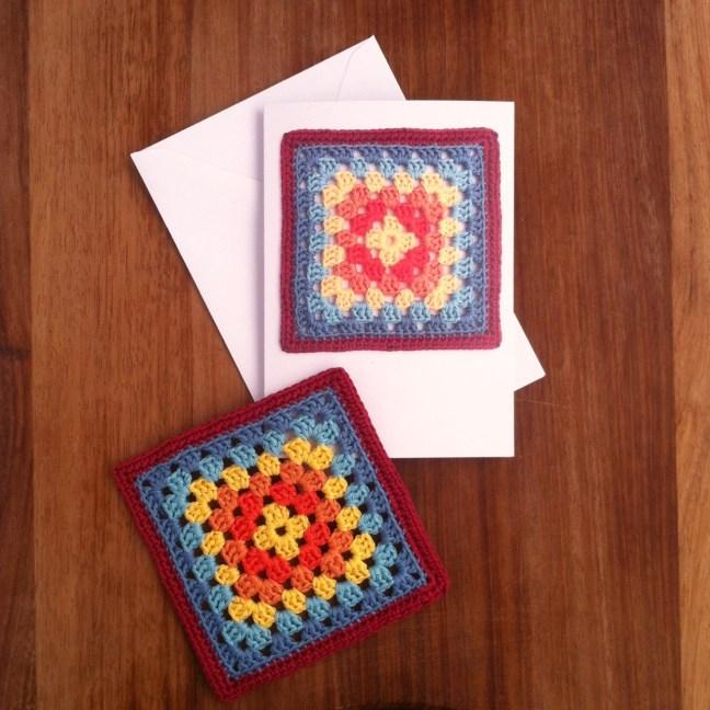 Crochet Greetings Cards