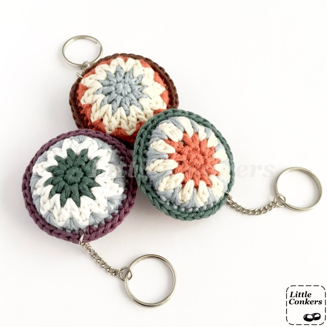 Eco-friendly Keychains in Muted Colours