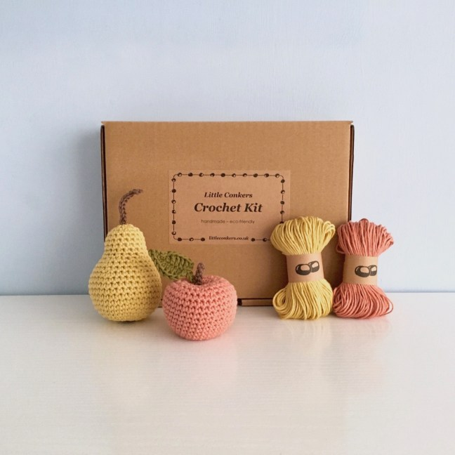 Apple and Pear Fruit Crochet Kit