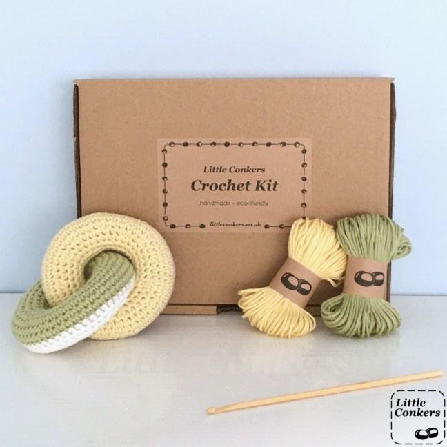 Linked Rings Crochet Kit