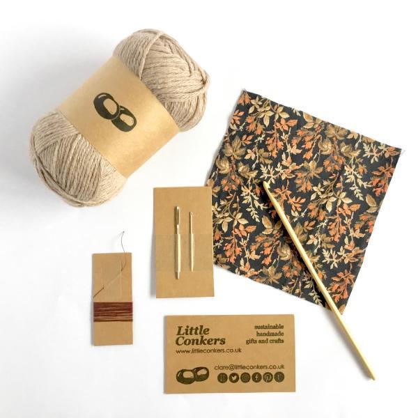 Little Conkers Crochet Kit