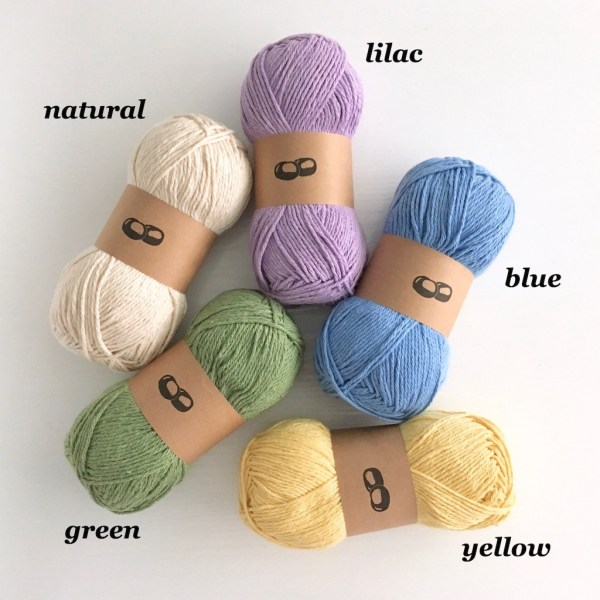 Recycled yarn for dishcloths