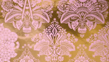 Fruits Of Design Damask Wallpaper Custom