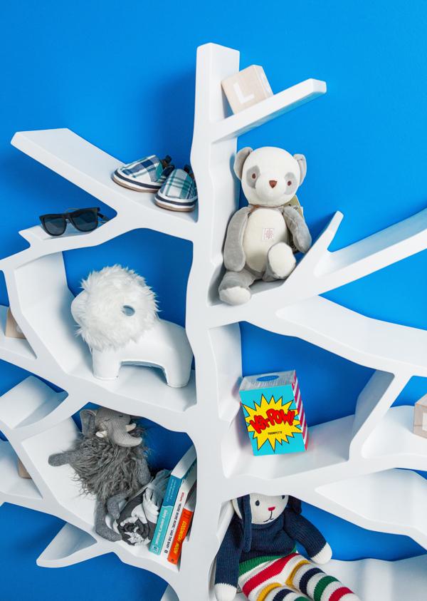 tree bookcase nursery works