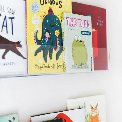 Kids Acrylic Wall Shelves | Little Crown Interiors Shop