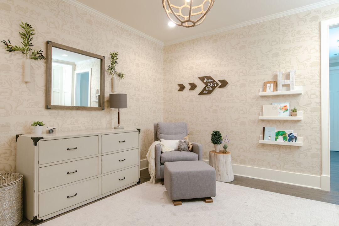 Neutral Nursery by Little Crown Interiors