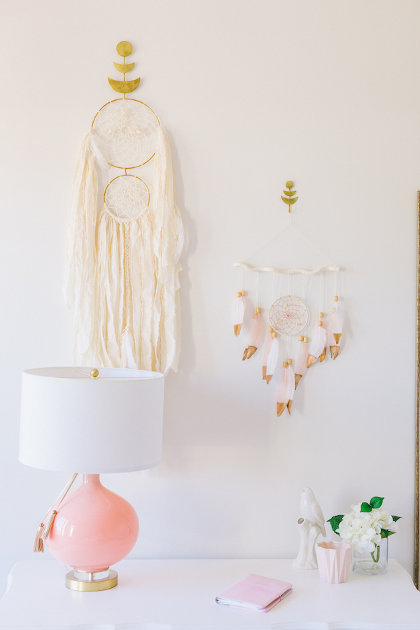 Girl's Bohemian Wall Hanging | Little Crown Interiors