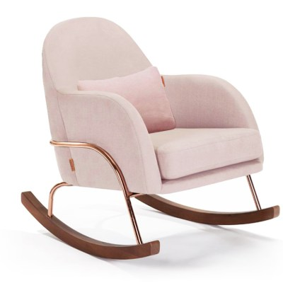 Blush Pink Nursery Rocker | Little Crown Interiors Shop