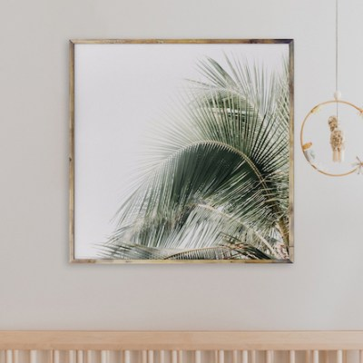 Palm Tree Art Print | Little Crown Interiors Shop