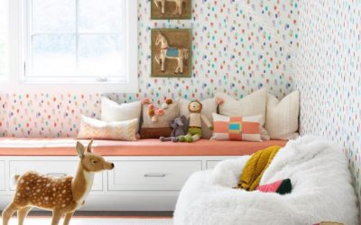 Wallpaper an Accent Wall, or the Whole Room?
