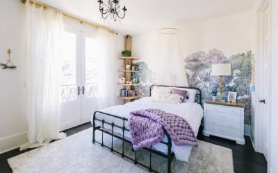 Design Reveal: Lavender Girl's Bedroom in Newport Beach