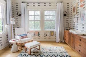 Bitsie Tulloch's Modern Bohemian Nursery