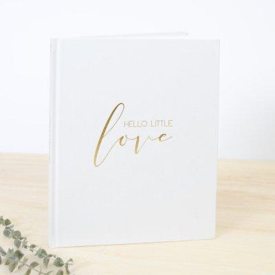 Hello Little Love Baby Journal | Little Crown Interiors Shop