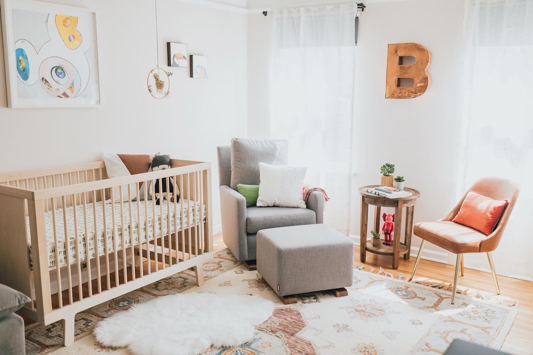 Modern Boy's Nursery   Little Crown Interiors